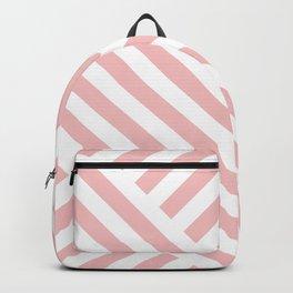 Blush Street Lines Backpack