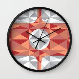 Calçadão Santos reduzido Wall Clock