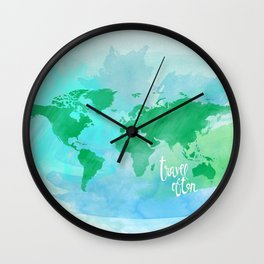 travel often.  Wall Clock