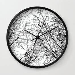 Tree Silhouette Series 2 Wall Clock