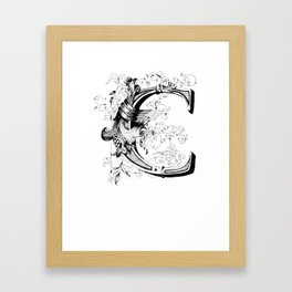 Monogram _C Framed Art Print