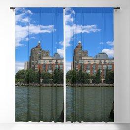 Manhattan And Hudson River Blackout Curtain