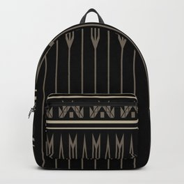 Arrows (Black Gray) Backpack