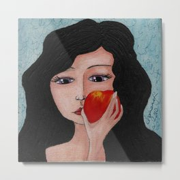 Have An Apple PRINT Metal Print