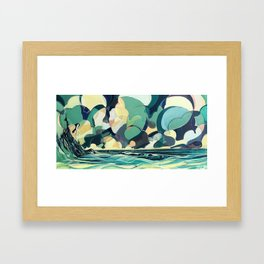 Ride The Last One In Framed Art Print