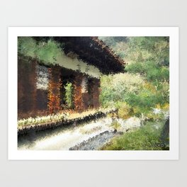 Country Home Art Print