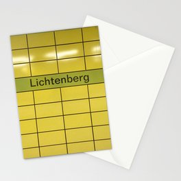 Berlin U-Bahn Memories - Lichtenberg Stationery Cards