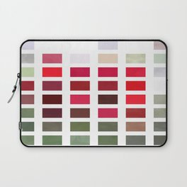Red Rose Edges Abstract Rectangles 2 Laptop Sleeve