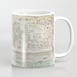 Vintage Map of Mobile AL (1763) Coffee Mug