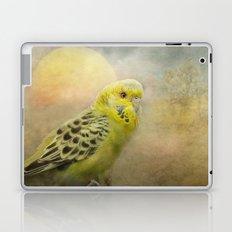 Little yellow budgerigar Laptop & iPad Skin