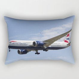 British Airways and Birds Rectangular Pillow