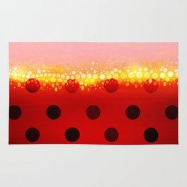 miraculous ladybug designs 1/2 Rug