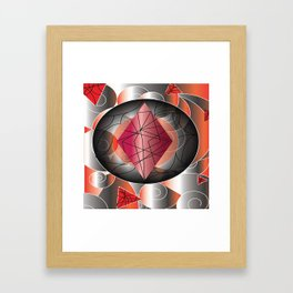 RedDiamond Framed Art Print