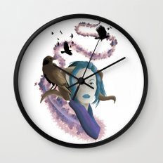 Crow Call Wall Clock