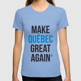 Make Quebec Great Again MQGA fleur de lys T-shirt