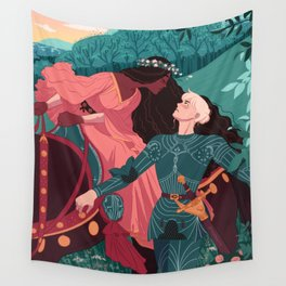 The Beautiful Lady Without Mercy  Wall Tapestry