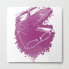Designer Metal Print