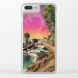 Venice Canals Clear iPhone Case