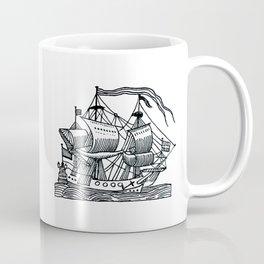 Ship Barco Bateau Schiff лодка Coffee Mug