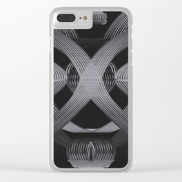 Excellence Black & White dpa150607.b3 Clear iPhone Case