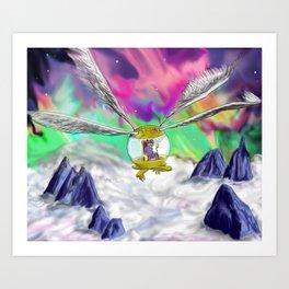 Ornithopter Art Print