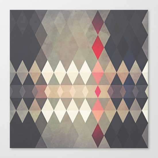 Geometric K8 Canvas Print