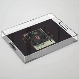 Cosmic Black Acrylic Tray