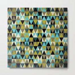 Triangles I Metal Print