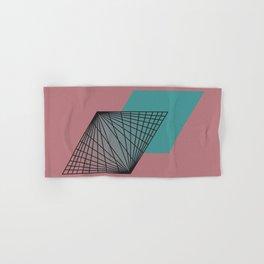 Triangular Grid - Sacred Geometry Hand & Bath Towel