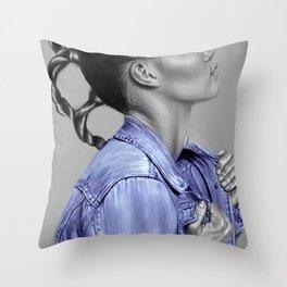 + Blue Jeans + Throw Pillow