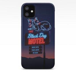 The Black Dog Motel iPhone Case