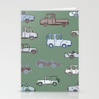 cars Stationery Cards featuring Cars  by Nadezhda Alkimovich
