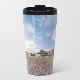 Bray beach landscape Travel Mug