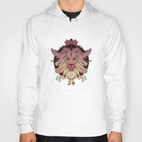 leo Hoodies featuring leo by andrahilde