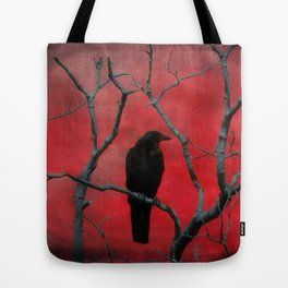 The Color Red Tote Bag