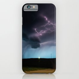 Ocean of Lightning iPhone Case
