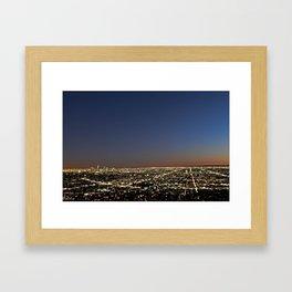 Los Angeles, CA Framed Art Print