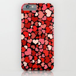Little Hearts iPhone Case