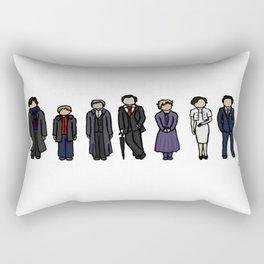 Characters of Sherlock Rectangular Pillow