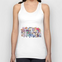 anime Tank Tops featuring Illustration anime by Jaimie Hutton