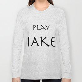 Play Naked Long Sleeve T-shirt