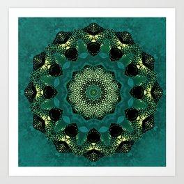 Boxfish Kaleidoscope Art Print