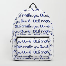 Dumb Dick Allover Backpack