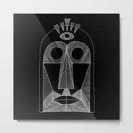 3rd eye mask Metal Print