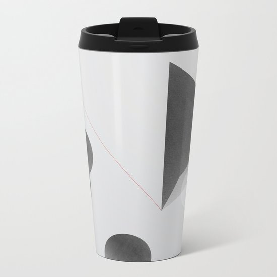 Space one Metal Travel Mug