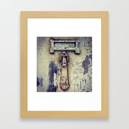 Groove is in the heart Framed Art Print