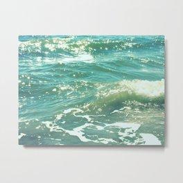 The Sparkling Sea Metal Print