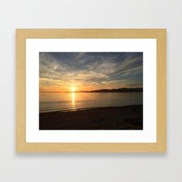 Ocean Calm VI Framed Art Print