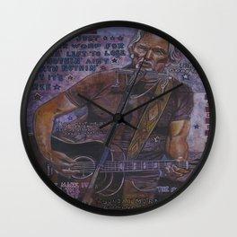 Kris Kristofferson Wall Clock