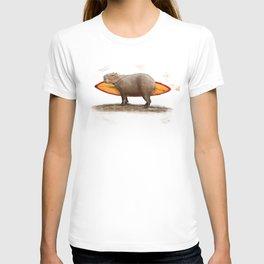 Capybara Surfer T-shirt